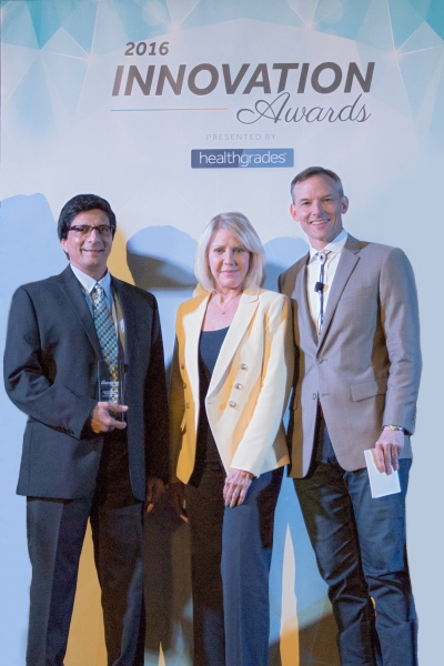Centinela Hospital Medical Center wins the 2015 - 2016 Quality Improvement Innovation Award